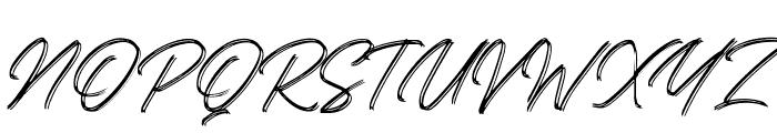 Kallisa Font UPPERCASE