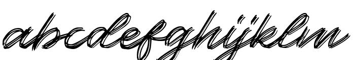 Kallisa Font LOWERCASE