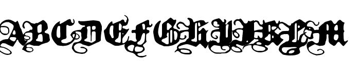 Kalmari Font UPPERCASE