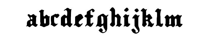 Kalmari Font LOWERCASE