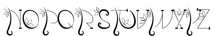 Kalopsia} Font UPPERCASE