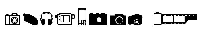 Kamera Dings Font OTHER CHARS