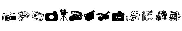 Kamera Dings Font LOWERCASE