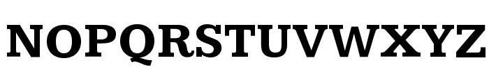 Kameron Bold Font UPPERCASE