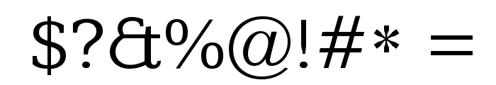 Kameron Font OTHER CHARS