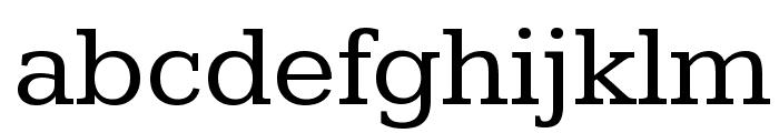 Kameron Font LOWERCASE