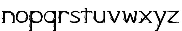 Kampung Zombie Regular Font LOWERCASE