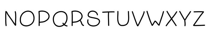 Kanada-Regular Font UPPERCASE