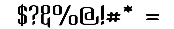 Kandide Upper Wide Font OTHER CHARS