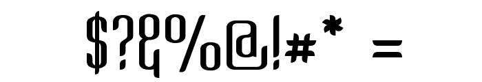 Kandide Upper Font OTHER CHARS