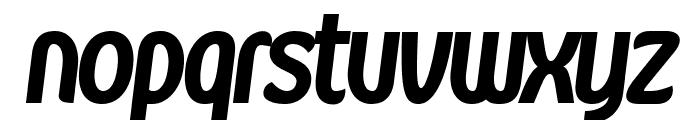 Kandira PERSONAL Black Italic Font LOWERCASE