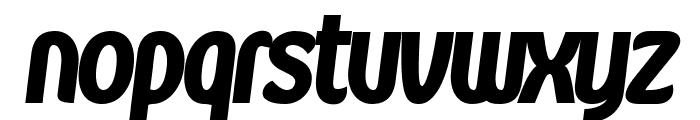 Kandira PERSONAL ExtraBlack Italic Font LOWERCASE