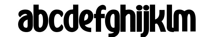 Kandira PERSONAL ExtraBlack Font LOWERCASE