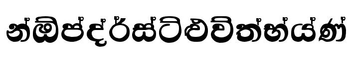 Kandy Font UPPERCASE