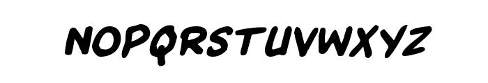 Kangaroo Court Italic Font UPPERCASE