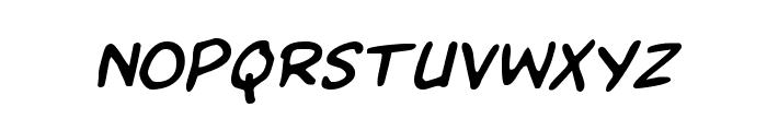 Kangaroo Court Italic Font LOWERCASE