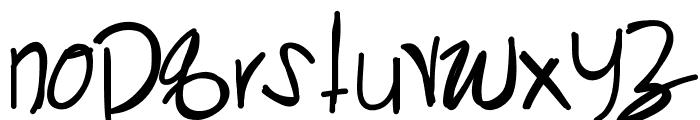 KangarooSong Font LOWERCASE