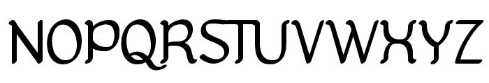 Kanis Font UPPERCASE