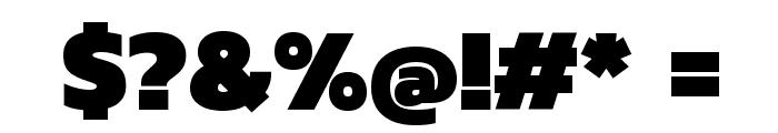 Kanit Black Font OTHER CHARS