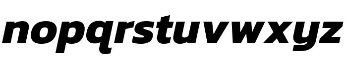 Kanit Bold Italic Font LOWERCASE