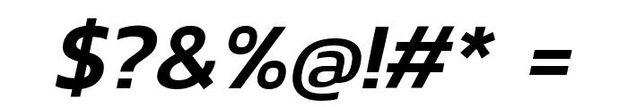 Kanit Medium Italic Font OTHER CHARS