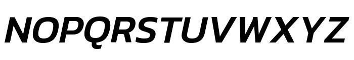 Kanit Medium Italic Font UPPERCASE