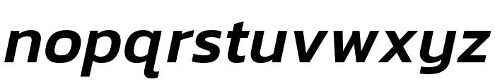 Kanit Medium Italic Font LOWERCASE
