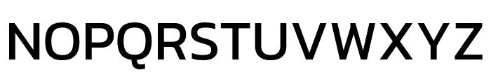Kanit Regular Font UPPERCASE