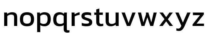 Kanit Regular Font LOWERCASE