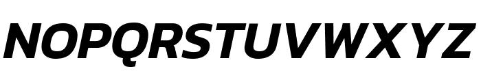 Kanit SemiBold Italic Font UPPERCASE