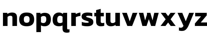 Kanit SemiBold Font LOWERCASE