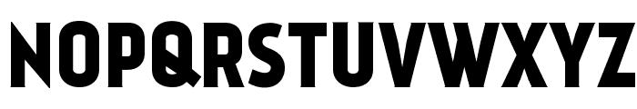 Kankin Font UPPERCASE