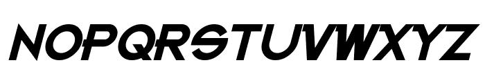 Kanno Bold Italic Font UPPERCASE