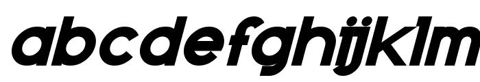 Kanno Bold Italic Font LOWERCASE