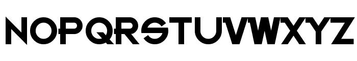 Kanno Bold Font UPPERCASE