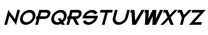 Kanno Italic Font UPPERCASE