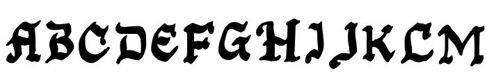 Kansas City Gothic Caps Font UPPERCASE