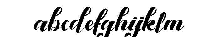 Kansha Font LOWERCASE