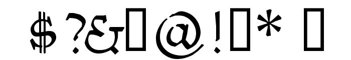 Kantor Font OTHER CHARS