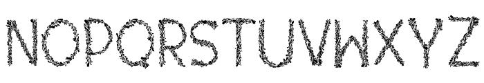 Kaori Font UPPERCASE