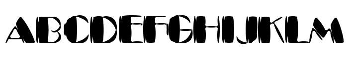 Kaptain Kurk Font UPPERCASE