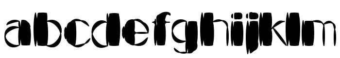 Kaptain Kurk Font LOWERCASE
