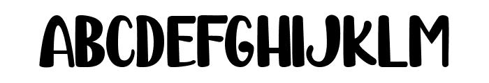 Karambit Show Font UPPERCASE