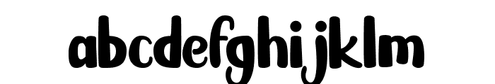 Karambit Show Font LOWERCASE