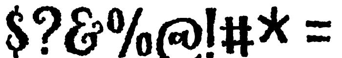 KarameliaDEMO Font OTHER CHARS