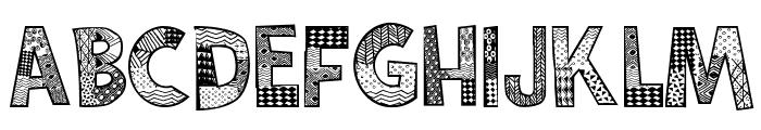 Karamuruh Font LOWERCASE