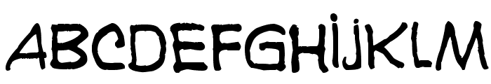 Karaoglan Font LOWERCASE