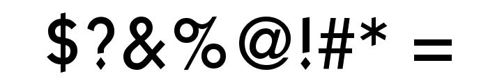 KaratMedium Regular Font OTHER CHARS