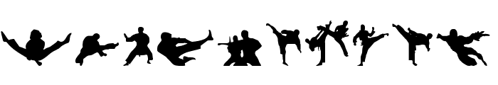 Karate Chop Font OTHER CHARS