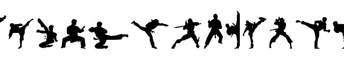 Karate Chop Font UPPERCASE